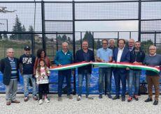 La Guida - Borgo, inaugurato il nuovo campo per il Padel