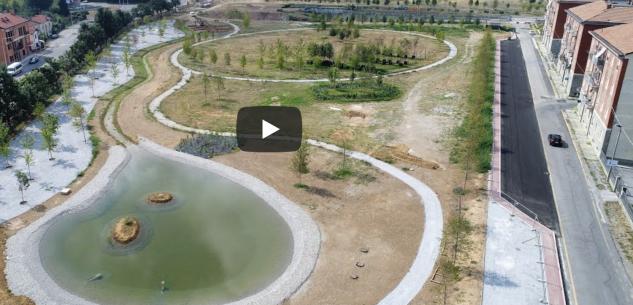 La Guida - Parco Parri prende sempre più forma, il video che illustra le fasi di avanzamento del cantiere