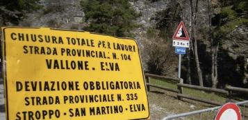 La Guida - Una petizione per riaprire la strada del Vallone di Elva