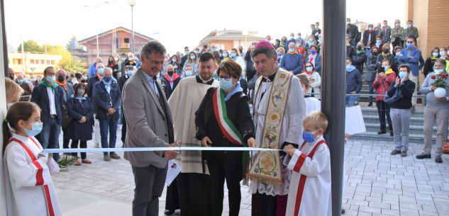 La Guida - Borgo, inaugurate le nuove opere di Gesù Lavoratore