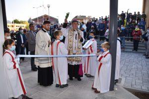 benedizione da parte del vescovo