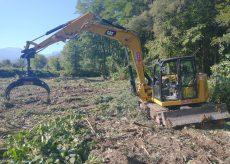 La Guida - Conclusi gli interventi per rimuovere la vegetazione dal fiume Ellero