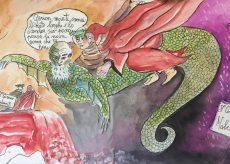 La Guida - CuneoVualà, i viaggi di Dante nei carnet disegnati