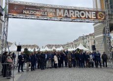 La Guida - Inaugurata la Fiera del Marrone, Cuneo capitale del gusto