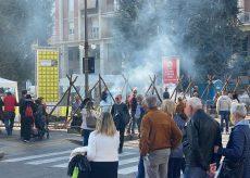 La Guida - Cuneo invasa di gente per la Fiera del marrone