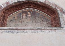 La Guida - In via Roma a Boves emerge scritta del XV secolo
