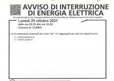 La Guida - Lunedì 25 ottobre interruzione dell'energia elettrica in via Motorizzazione