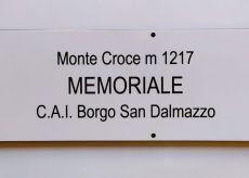 """La Guida - Borgo, un Memoriale sul monte Croce  per ricordare gli amici del Cai """"andati avanti"""""""