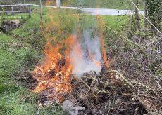 La Guida - Abbruciamenti, in Valle Grana si può fino al 1 novembre